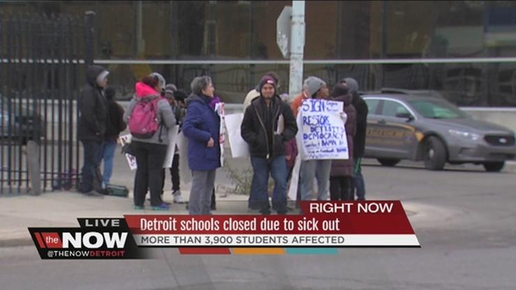 Detroit teacher sick-out case