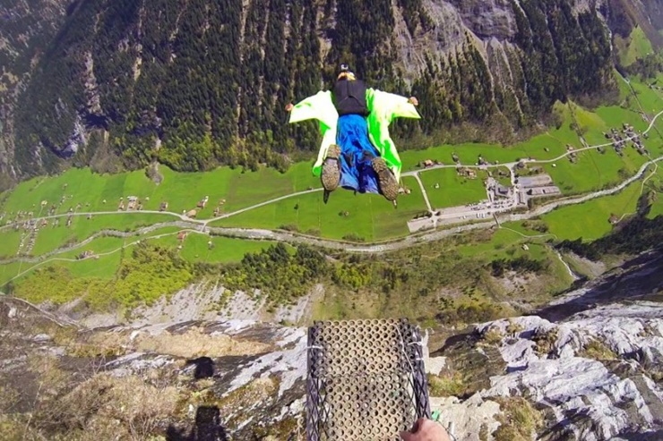 Eric Dossantos' Epic Wingsuit Crash Could Have Been Worse