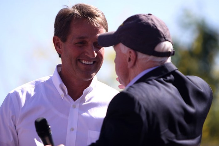 Jeff Flake Says Arizona Could Go Blue, Asks Donald Trump To Change