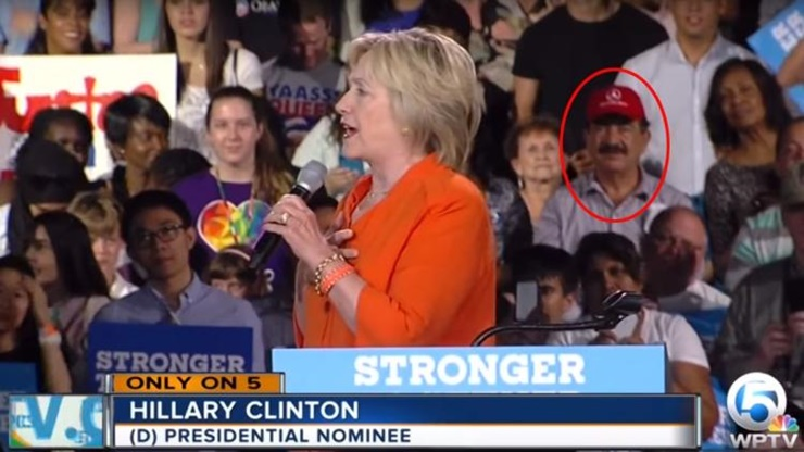 Seddique Mateen Clinton rally