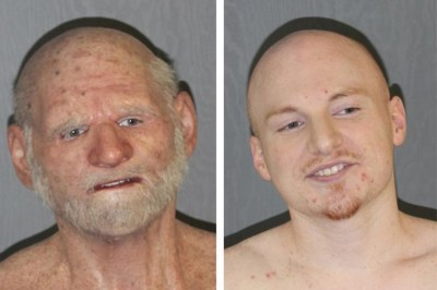 Shaun Miller: Fugitive Arrested Wearing Old Man Mask