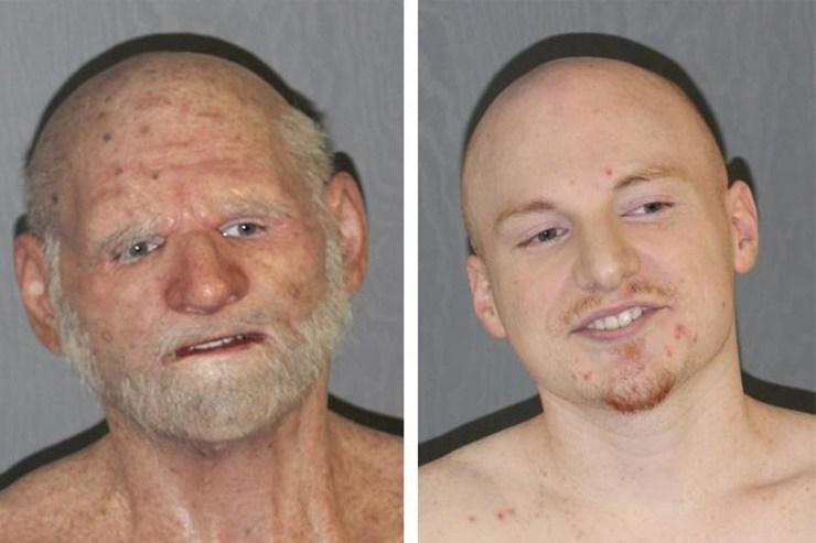 Shaun Miller: Fugitive Arrested Wearing Old Man Mask