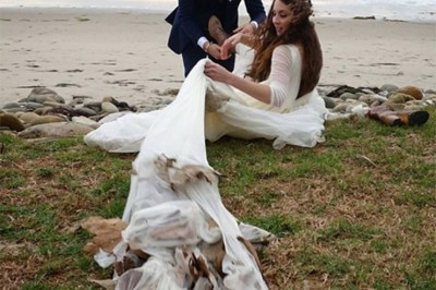 Troian Bellisario And Patrick J. Adams Wedding Pics Surface On Social Media