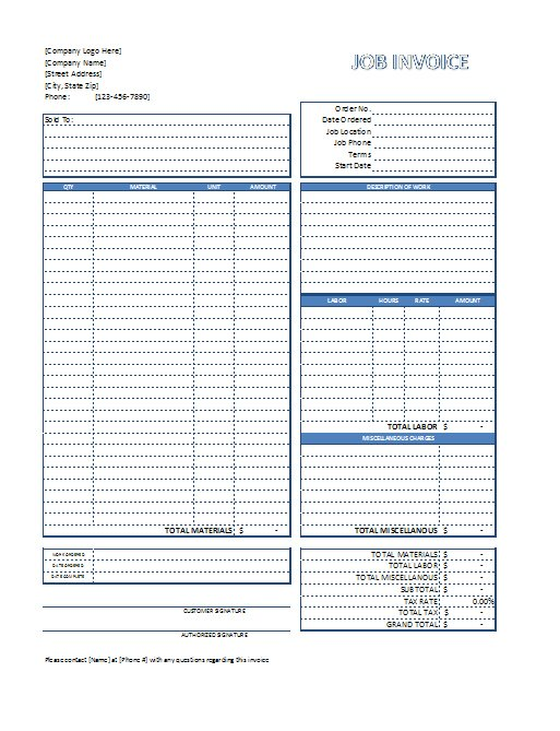Opposenewapstandardsus  Marvelous Free Excel Invoice Templates  Free To Download With Luxury Job Invoice Templates With Amusing Organizing Receipts Also Usps Certified Mail Return Receipt In Addition How To Spell Receipts And Kmart Return Policy No Receipt As Well As Fake Taxi Receipt Generator Additionally Concur Email Receipts From Spreadsheetshoppecom With Opposenewapstandardsus  Luxury Free Excel Invoice Templates  Free To Download With Amusing Job Invoice Templates And Marvelous Organizing Receipts Also Usps Certified Mail Return Receipt In Addition How To Spell Receipts From Spreadsheetshoppecom
