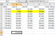Excel Offset Function 5