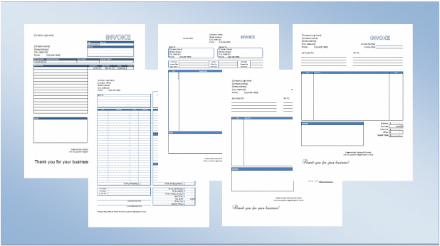 Consultant Invoice Template Excel. Free Excel Invoice Templates