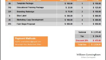 My Invoices And Estimates Excel Free Excel Invoice Templates  Free To Download Receipt Ticket Word with Pdf Invoice Template Excel Premium Invoice Template Everest Mail Invoice