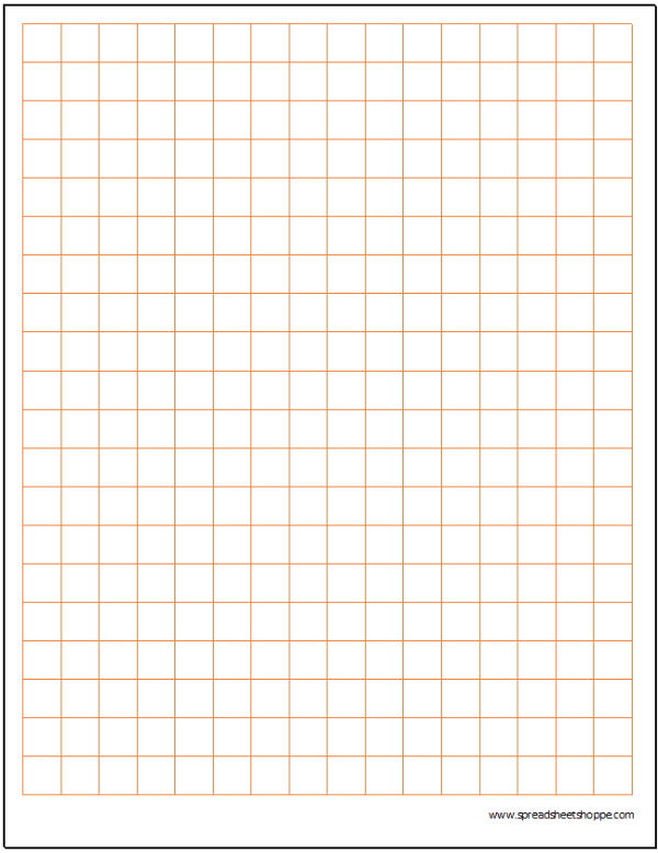 Cartesian Graph Paper .5""