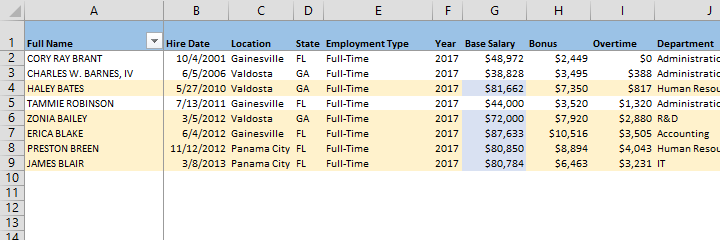 Extract Data Quickly From Tables With Excel S Sumif Function