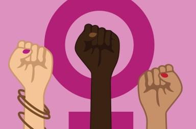 Feminismus-Power-Symbol