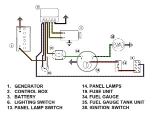 SpridgetGuruTech IndexFuel Gauge Wiring Diagram