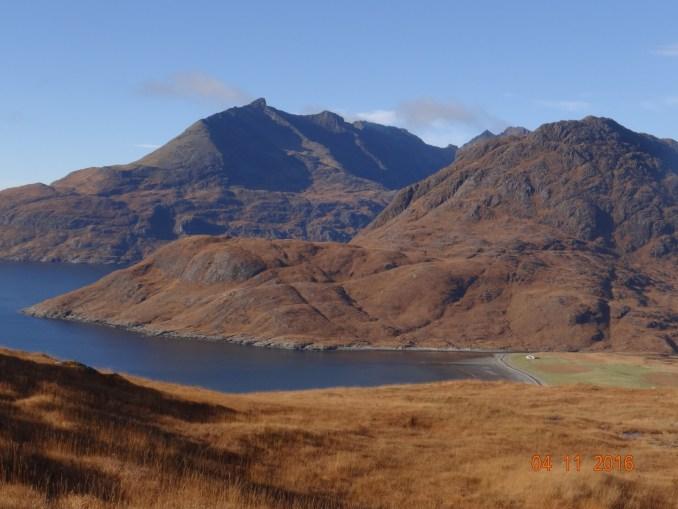 Hills above Camusunary