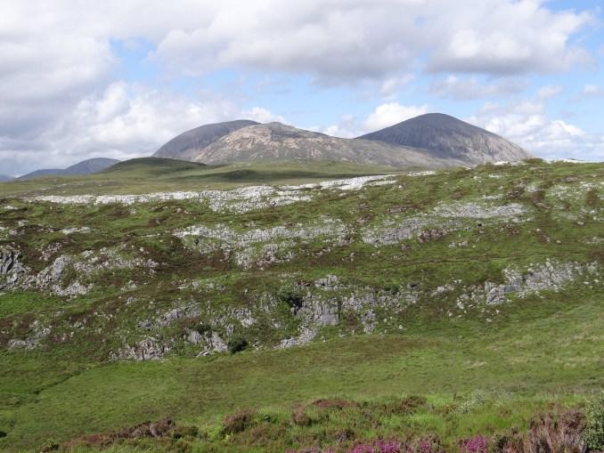 Limestone outcrops