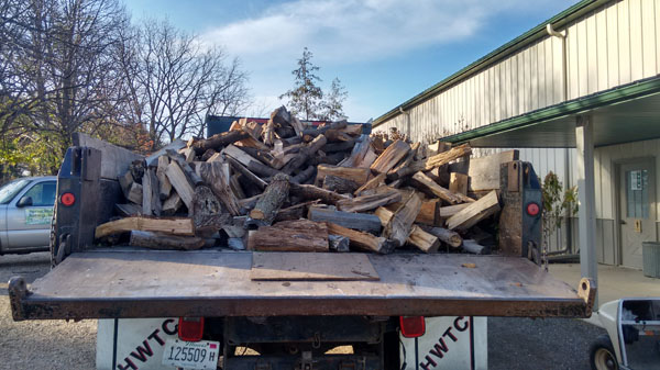 Firewood delivery available