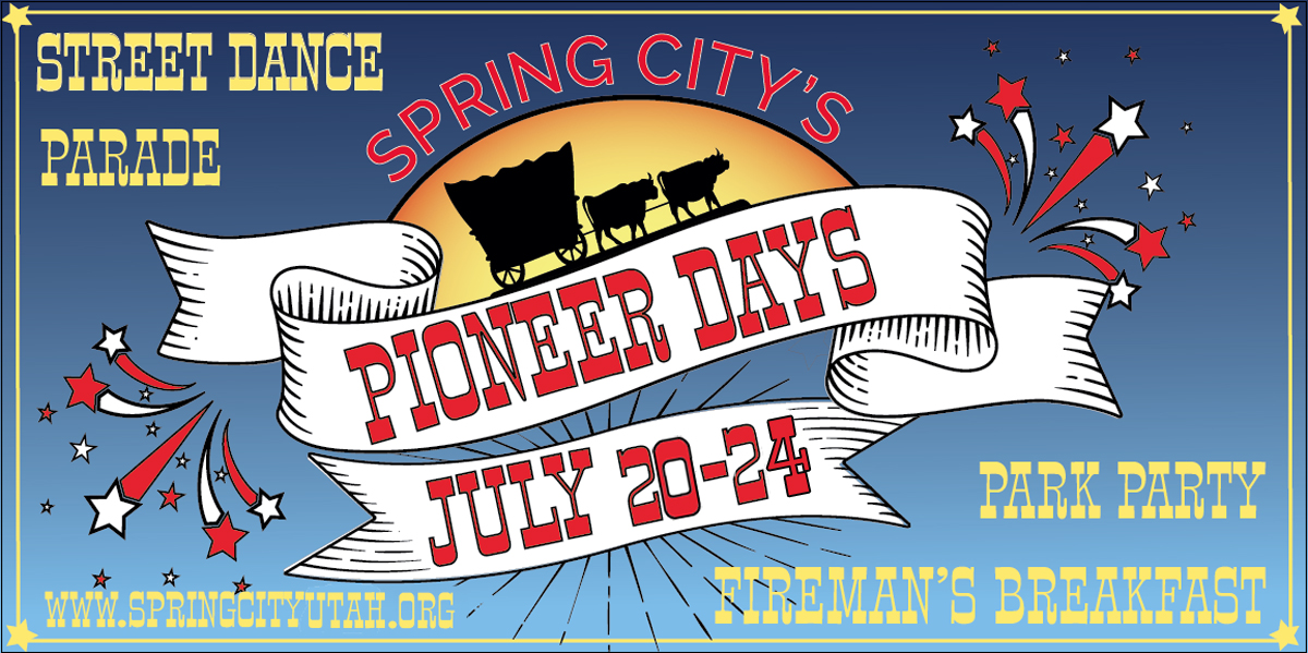 Pioneer Days Celebration July 20-July 24 2017