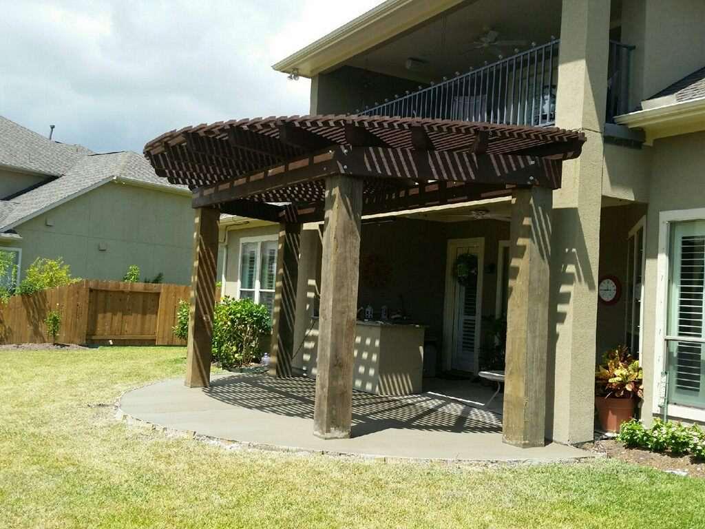 houston driveway patio concrete repair