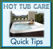 drain a hot tub