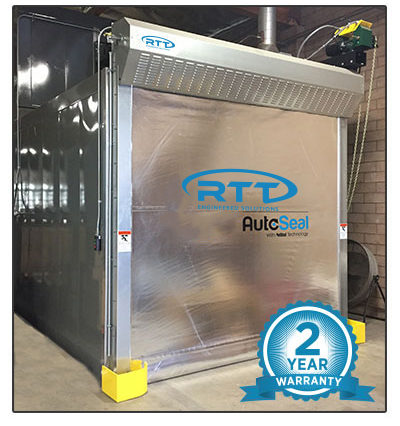 AutoSeal Batch Oven Roll Up Door From RTT Engineered Solutions