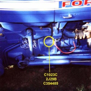 FORD CODES and SERIAL NUMBERS