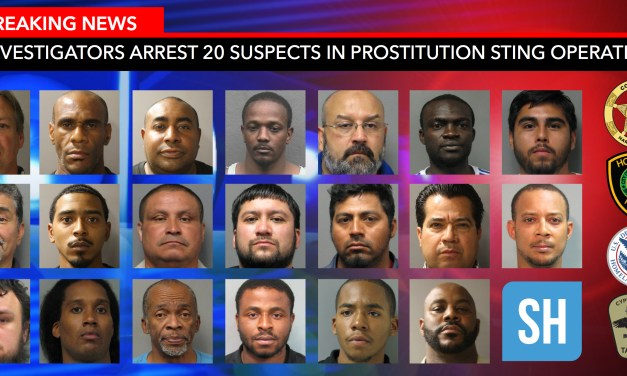 Investigators Arrest 20 Suspects in Prostitution Operation