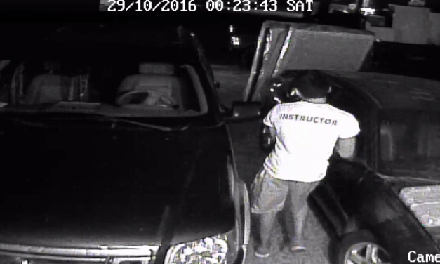 Arson Suspect Caught On Camera Setting Car On Fire