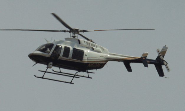 Surveillance Helicopter Hovering Spring Allegedly Operated By FBI