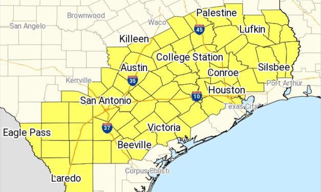 "Severe Thunderstorm Watch Issued; Scattered Hail Up To ""Apple-Size"" Likely Per NWS"