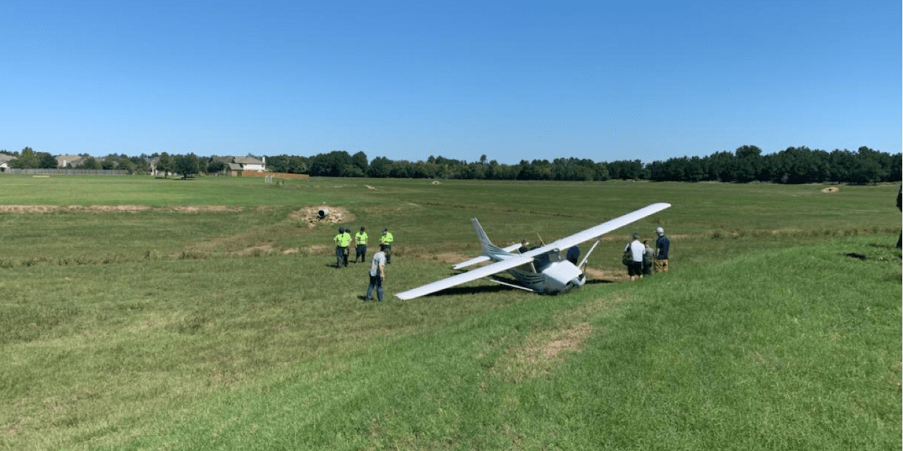 Student Pilot Makes Emergency Landing Near Hooks Airport