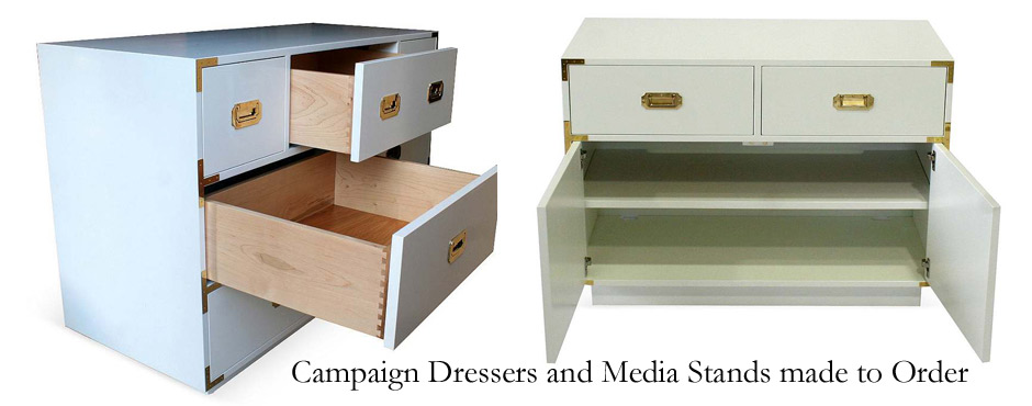 Hardwood dovetailed drawers, made in America, solid handcrafted cases