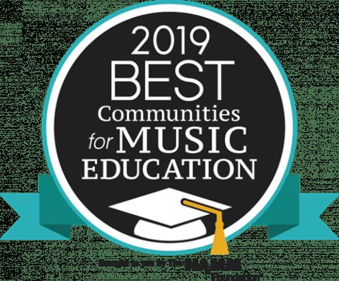 2019 Best Communities for Music Education