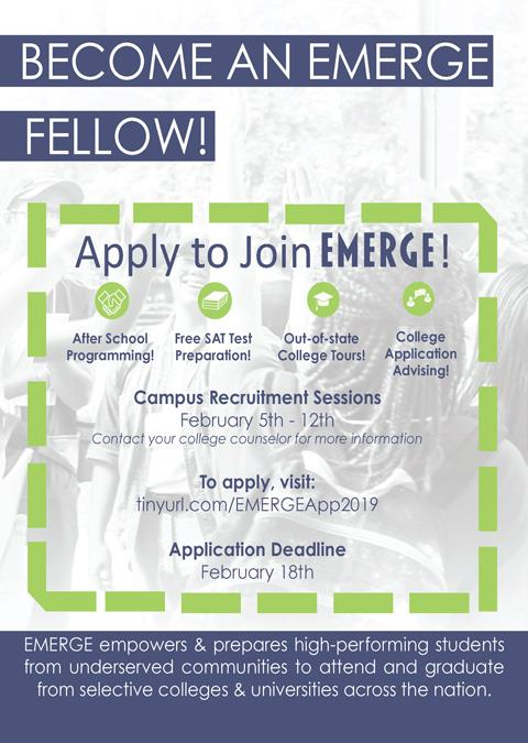 Apply to Join EMERGE