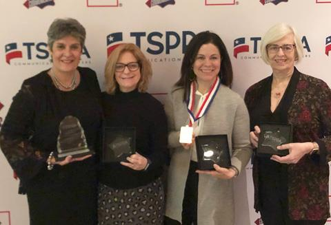 The Spring ISD Communications Office was recognized with 29 Star Awards from the Texas School Public Relations Association (TSPRA)