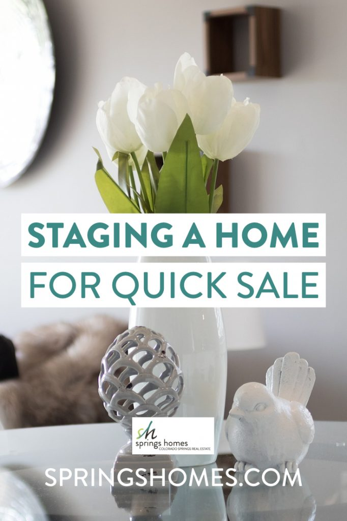 Staging a Home for Quick Sale Pinterest