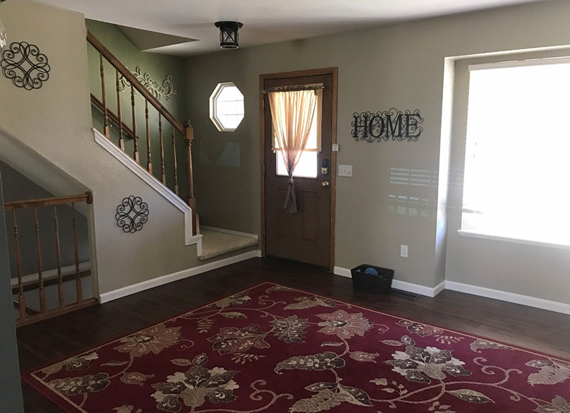 Staging a Home for Quick Sale Before Living Room