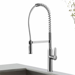 kohler sous pull down faucet with