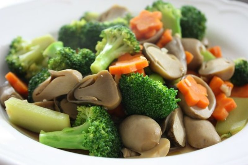 Stir Fried Broccoli with Straw Mushrooms Recipe
