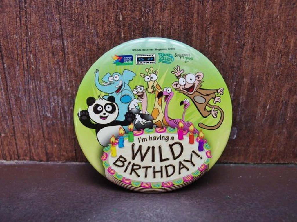 Get a Birthday Badge if you visit any of the Wildlife Reserves Parks in Singapore (zoo, bird park, night safari or river safari) on your birthday. This badge entitles you to 10% off retail and F&B and complimentary ice cream too!