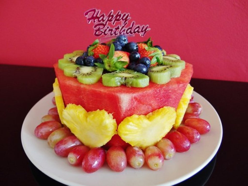 Cool Watermelon Cake Fruit Cake Recipe Spring Tomorrow Funny Birthday Cards Online Inifofree Goldxyz