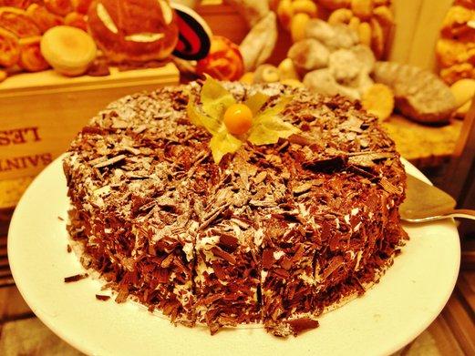 Hotel Jen Singapore Cafebiz: Chocolate Cake