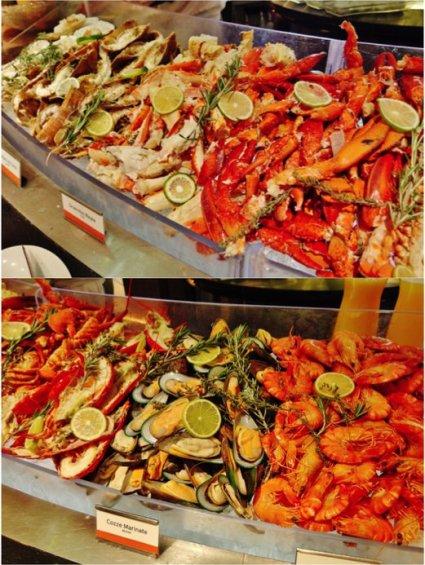 5 basilico seafood spread