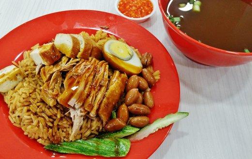 ji de lai braised duck rice 记得来卤鸭饭  ang mo kio ave 10