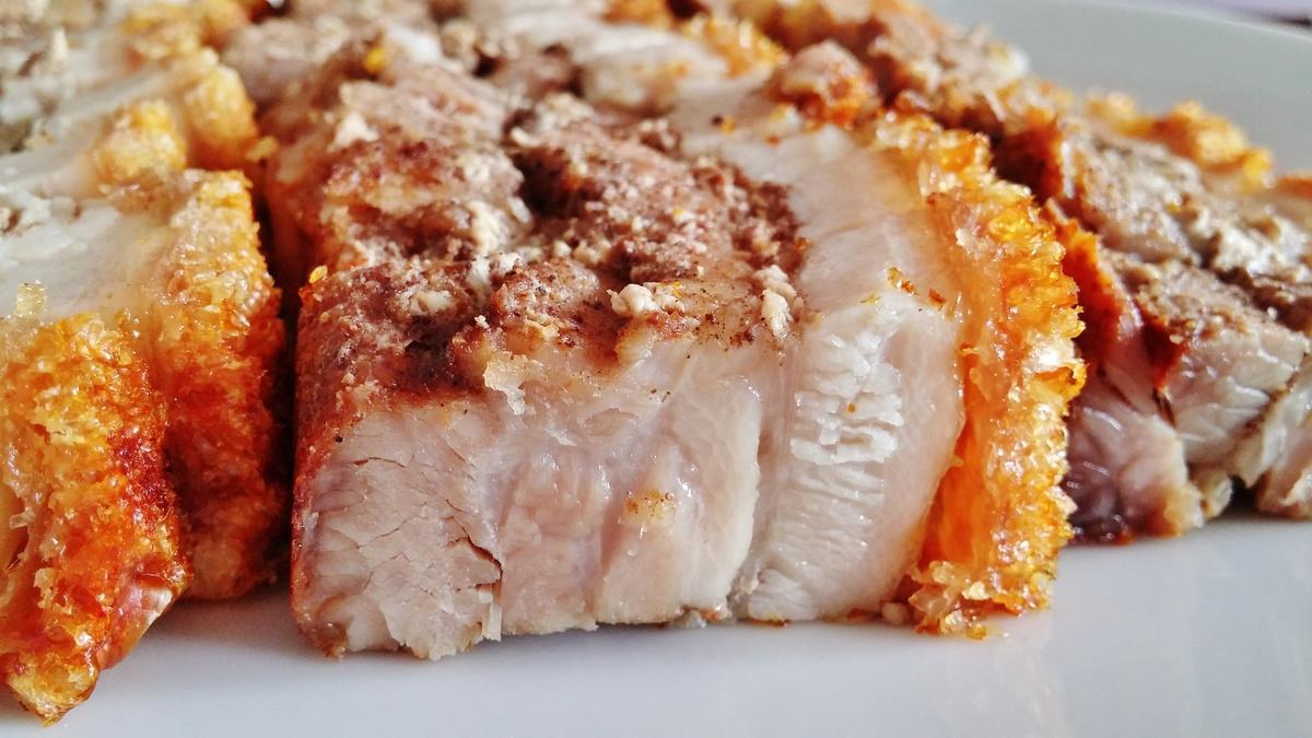 Crispy Roast Pork Recipe 脆皮烧肉
