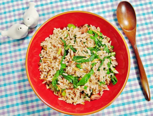 Smoked Duck Fried Rice Recipe