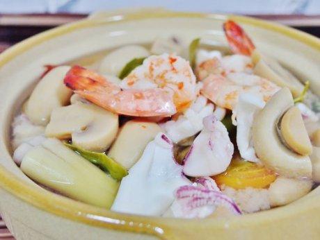 Seafood Tom Yum Soup Recipe