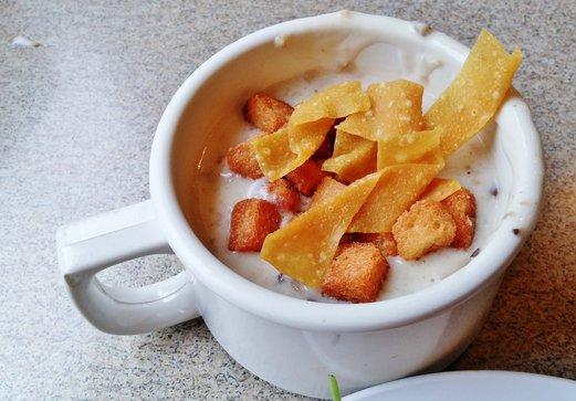 Krazy Salad Bar Mushroom Soup