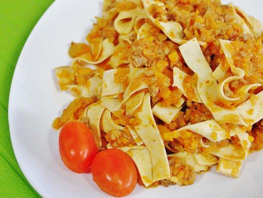 Low-Carb Tagliatelle al Ragu Recipe (using baiye tofu)