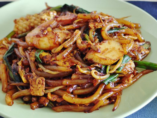 Stir Fried Mee Tai Mak Recipe