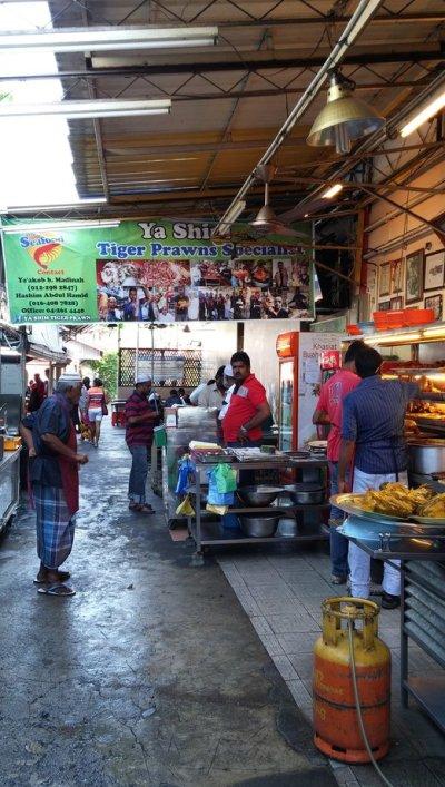 Line Clear Nasi Kandar @ Jalan Penang, Georgetown, Penang