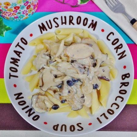 Roasted Mushroom Stroganoff Recipe