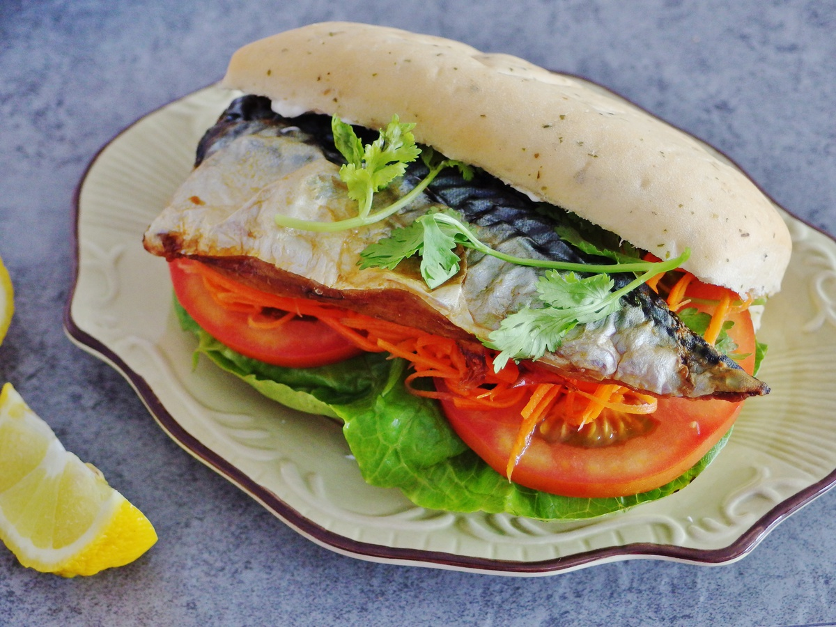 Mackerel Sandwich Recipe